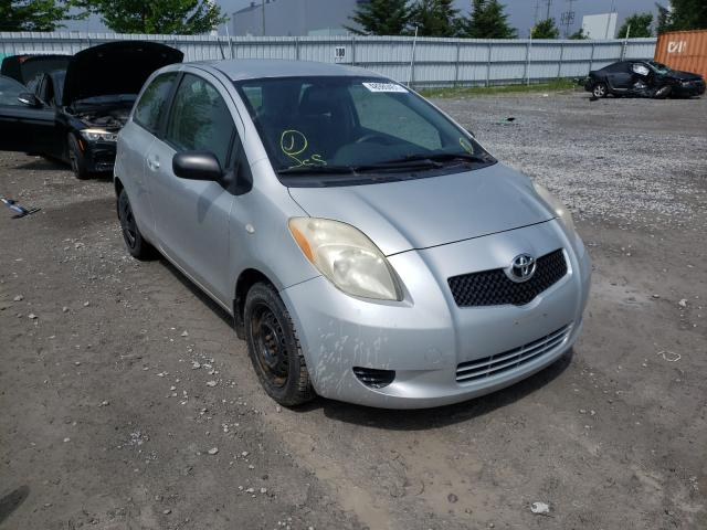 Salvage cars for sale from Copart Bowmanville, ON: 2007 Toyota Yaris