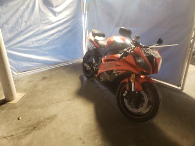 Salvage cars for sale from Copart Walton, KY: 2009 Yamaha YZFR6