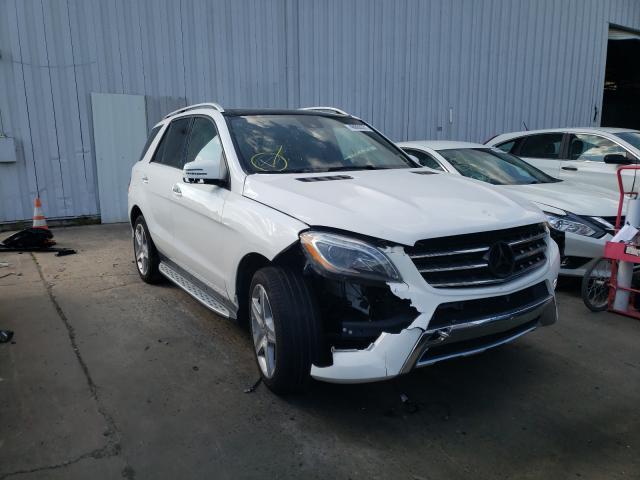 2015 Mercedes-Benz ML 400 4matic en venta en Windsor, NJ