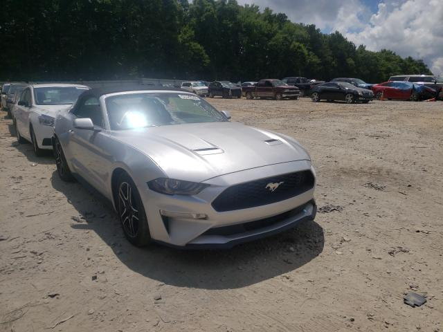 Salvage cars for sale from Copart Austell, GA: 2019 Ford Mustang