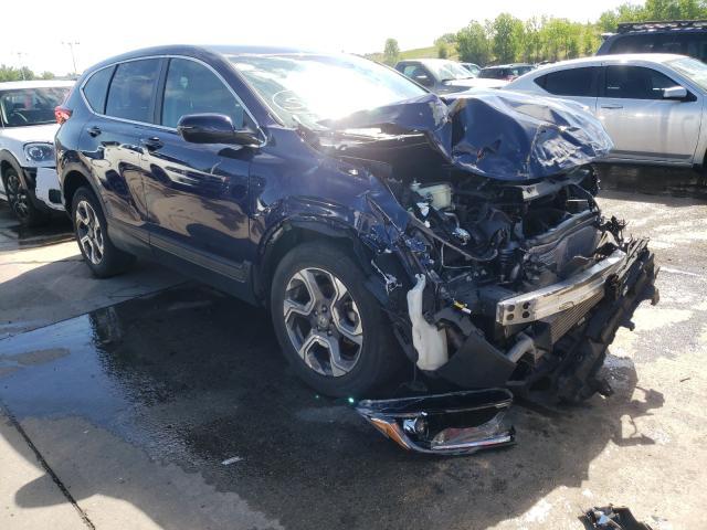 Honda salvage cars for sale: 2018 Honda CR-V EX