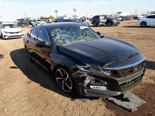 Salvage cars for sale from Copart Phoenix, AZ: 2018 Honda Accord Sport