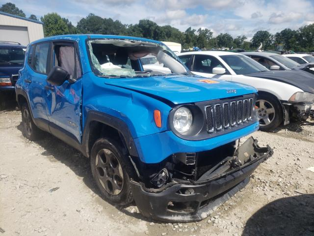 Jeep Renegade salvage cars for sale: 2015 Jeep Renegade