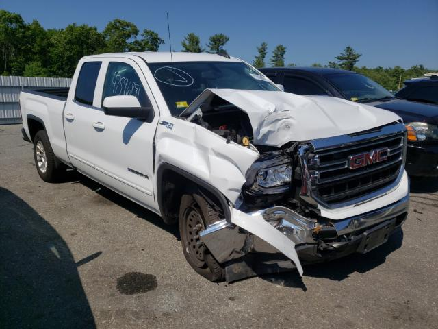 Salvage cars for sale from Copart Exeter, RI: 2017 GMC Sierra K15