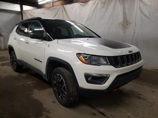 Salvage cars for sale from Copart Ebensburg, PA: 2020 Jeep Compass TR