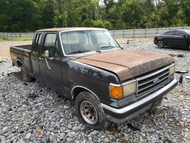 Salvage cars for sale from Copart Cartersville, GA: 1990 Ford F150