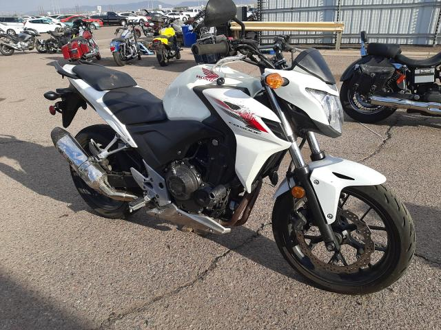 Salvage cars for sale from Copart Phoenix, AZ: 2014 Honda CB500 F