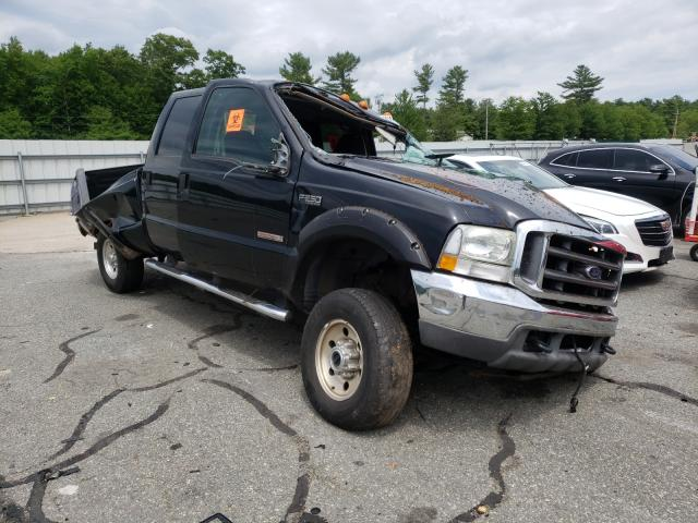 Salvage cars for sale from Copart Exeter, RI: 2004 Ford F250 Super