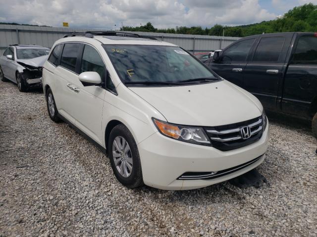 Salvage cars for sale from Copart Prairie Grove, AR: 2016 Honda Odyssey EX