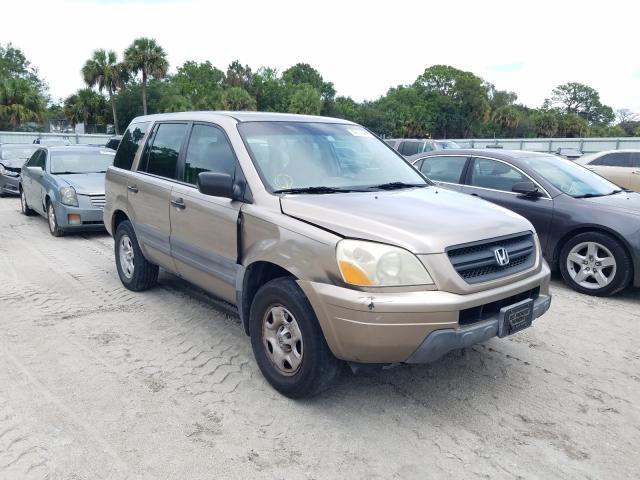 Honda Vehiculos salvage en venta: 2004 Honda Pilot LX