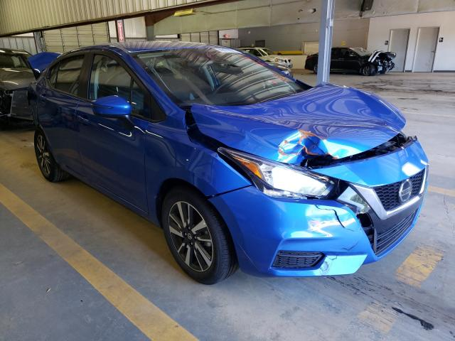 Salvage cars for sale from Copart Mocksville, NC: 2021 Nissan Versa SV
