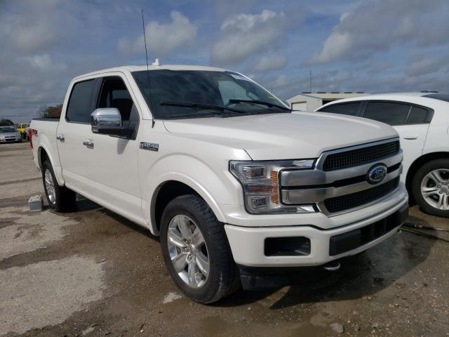Salvage cars for sale from Copart Riverview, FL: 2019 Ford F150 Super