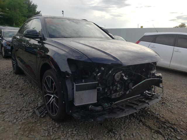 Audi Q8 Prestige salvage cars for sale: 2019 Audi Q8 Prestige