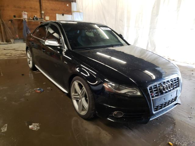 Salvage cars for sale from Copart Ebensburg, PA: 2010 Audi S4 Prestige