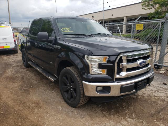 Salvage cars for sale from Copart Wheeling, IL: 2015 Ford F150 Super