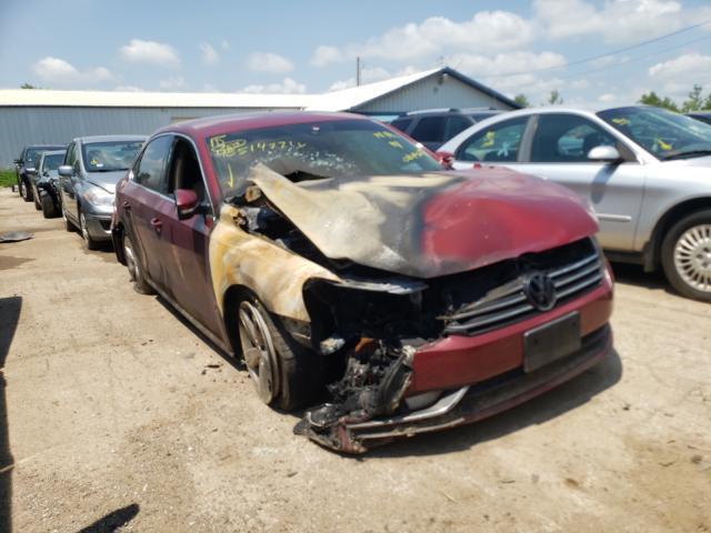 Salvage cars for sale from Copart Pekin, IL: 2015 Volkswagen Passat S