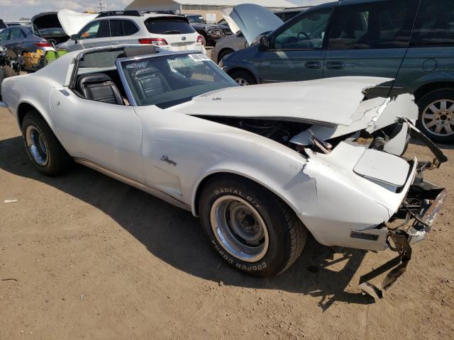 Chevrolet Corvette salvage cars for sale: 1973 Chevrolet Corvette