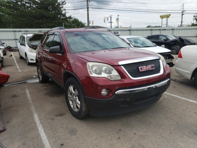 Salvage cars for sale from Copart Moraine, OH: 2011 GMC Acadia SLE