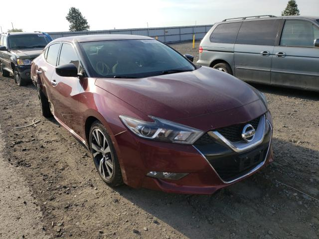 Salvage cars for sale from Copart Airway Heights, WA: 2017 Nissan Maxima 3.5