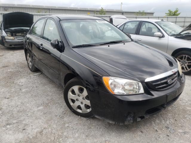 Salvage cars for sale from Copart Walton, KY: 2006 KIA Spectra LX