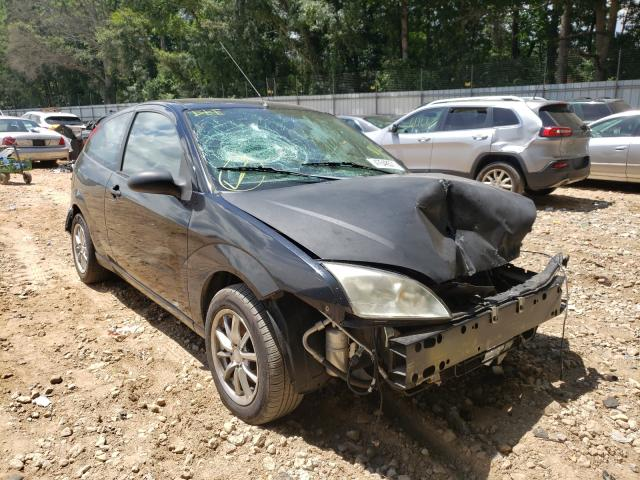 Salvage cars for sale from Copart Austell, GA: 2005 Ford Focus ZX3