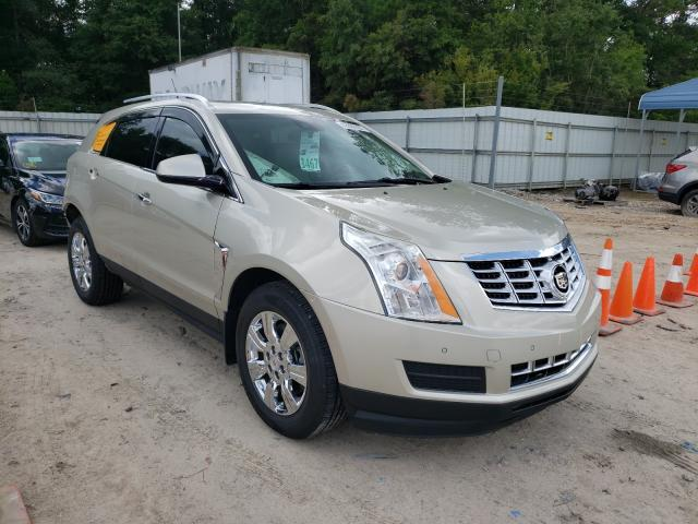 Salvage cars for sale from Copart Midway, FL: 2014 Cadillac SRX Luxury