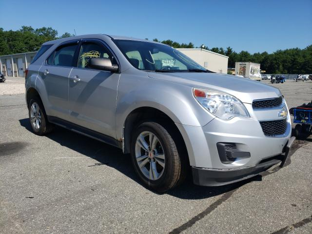 Salvage cars for sale from Copart Exeter, RI: 2010 Chevrolet Equinox LS