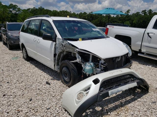 Toyota salvage cars for sale: 2010 Toyota Sienna CE