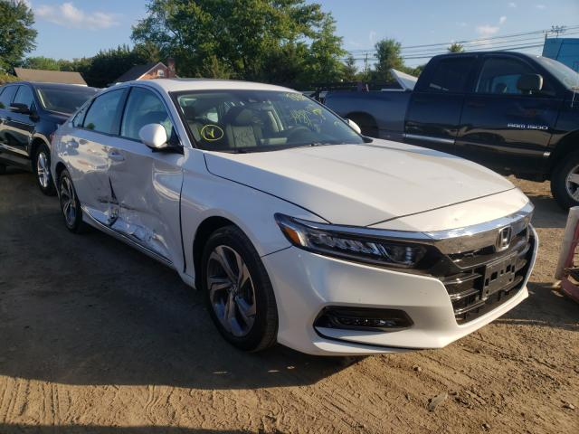 Salvage cars for sale from Copart Finksburg, MD: 2020 Honda Accord EX