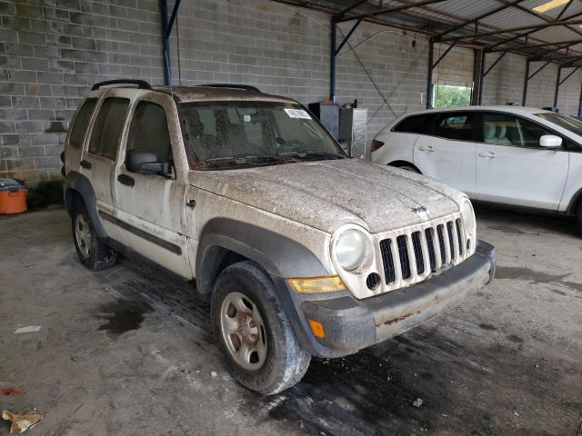 Salvage cars for sale from Copart Cartersville, GA: 2007 Jeep Liberty SP