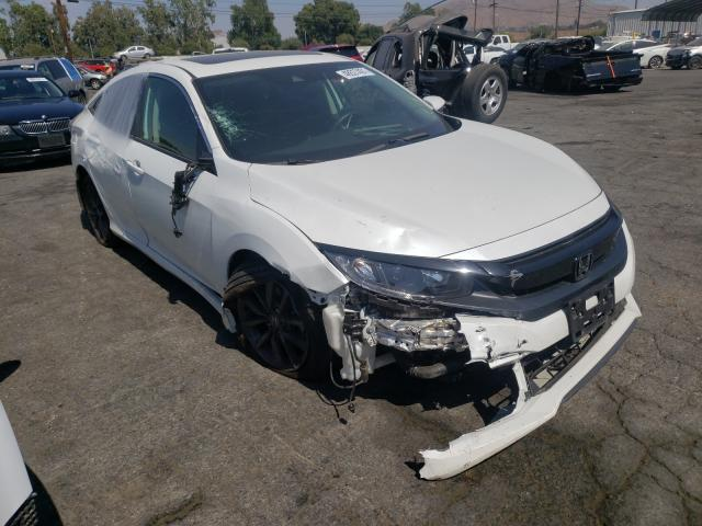 Salvage cars for sale from Copart Colton, CA: 2020 Honda Civic EX