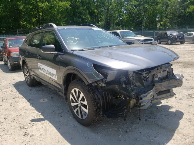 Salvage cars for sale from Copart Candia, NH: 2021 Subaru Outback