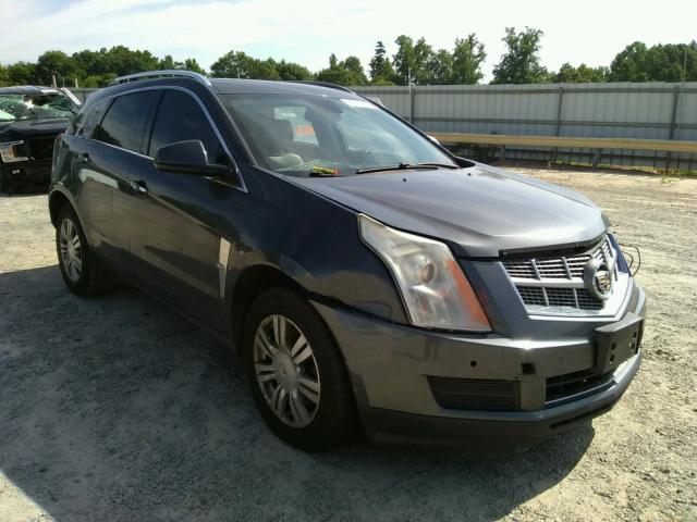 Salvage cars for sale from Copart Chatham, VA: 2010 Cadillac SRX Luxury