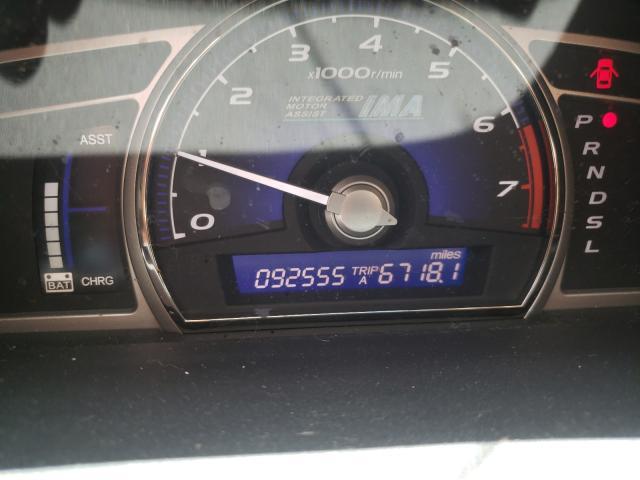 2010 HONDA CIVIC HYBR JHMFA3F21AS000546
