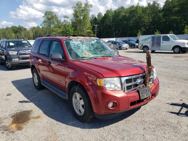 Salvage cars for sale from Copart Fredericksburg, VA: 2012 Ford Escape XLT