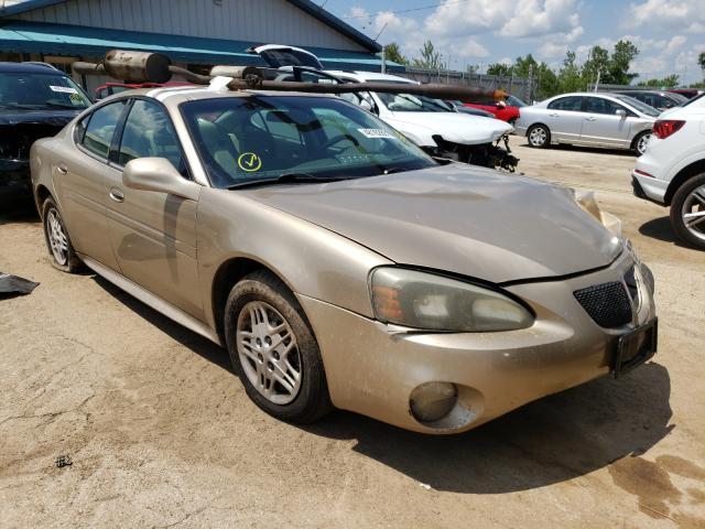 Pontiac salvage cars for sale: 2004 Pontiac Grand Prix