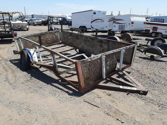 Salvage cars for sale from Copart Phoenix, AZ: 2002 Homemade Trailer