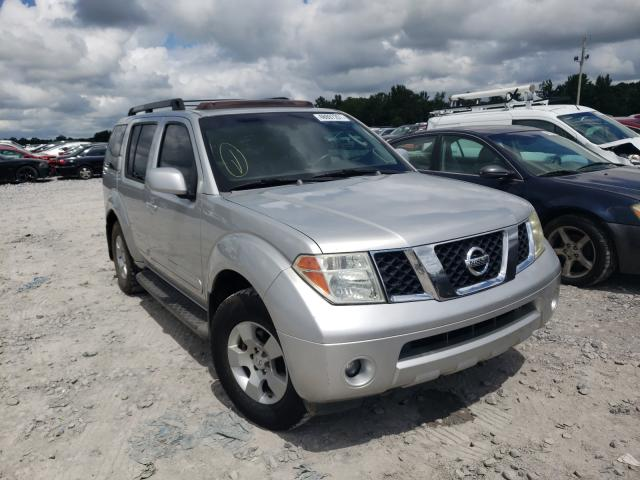 Salvage cars for sale from Copart Montgomery, AL: 2005 Nissan Pathfinder