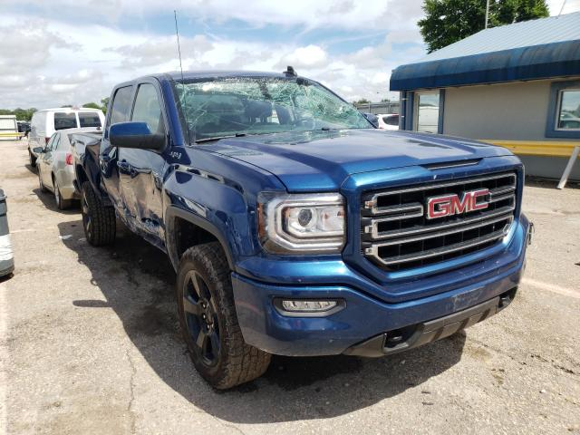 Salvage cars for sale from Copart Wichita, KS: 2017 GMC Sierra K15
