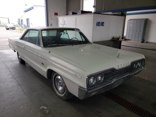 Salvage cars for sale from Copart Pasco, WA: 1966 Dodge Polara 500