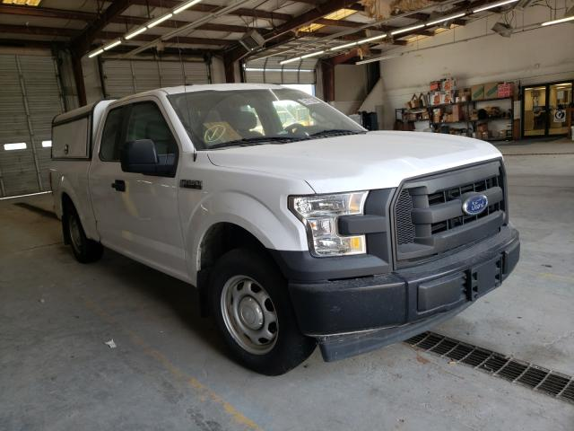 Salvage cars for sale from Copart Montgomery, AL: 2017 Ford F150 Super