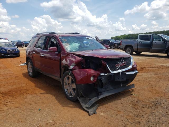 Vehiculos salvage en venta de Copart Longview, TX: 2010 GMC Acadia SLT