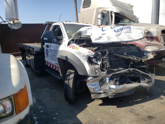 Salvage cars for sale from Copart Wilmington, CA: 2018 Ford F550 Super