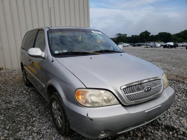 Salvage cars for sale from Copart Byron, GA: 2004 KIA Sedona EX