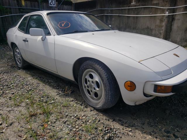 Porsche salvage cars for sale: 1987 Porsche 924 S