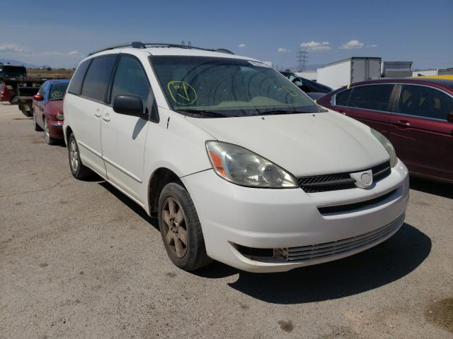 Salvage cars for sale from Copart Tucson, AZ: 2004 Toyota Sienna CE