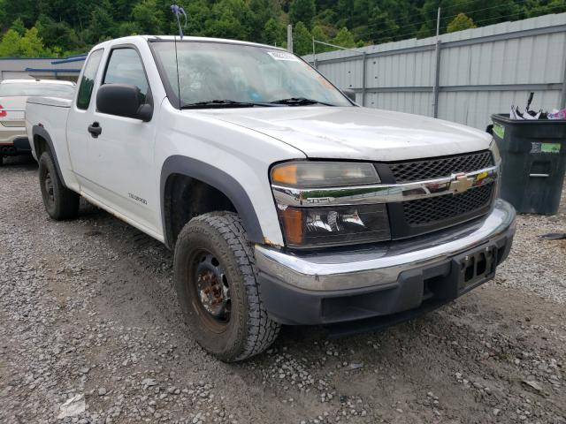 Salvage cars for sale from Copart Hurricane, WV: 2005 Chevrolet Colorado