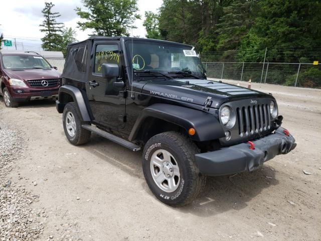 Salvage cars for sale from Copart Northfield, OH: 2014 Jeep Wrangler S