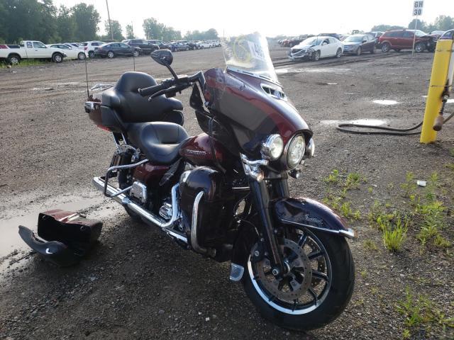 Salvage motorcycles for sale at Davison, MI auction: 2015 Harley-Davidson Flhtk Ultr