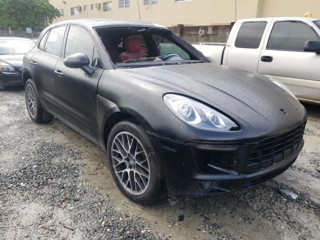 Porsche salvage cars for sale: 2017 Porsche Macan S